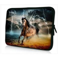 ProfessionalBags Universal 12 Inches Laptop Netbook Bag Lengan Case Cover untuk 11.6 12 12.1 12.2 Inch Apple HP DELL Acer samsung ASUS Notebook Tablet, Desain Kuda-Intl