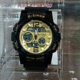 Review Promo D Ziner Dz 8138 Sporty Jam Tangan Wanita Original Anti Air Black Gold Di Indonesia