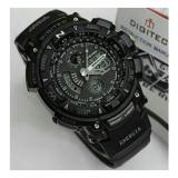 Harga Promo Digitec Dg 2044T Sporty Jam Tangan Pria Original Anti Air Full Black Fullset Murah
