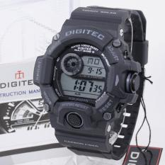 PROMO Digitec DG-2064T Original AQUAMAN - Waterresist - Sporty Men's Watch - Rubber Strap - Black Grey