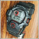 Jual Promo Digitec Dg 2064T Original Anti Air Jam Tangan Pria Sporty Casual Black Red Grosir