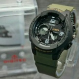 Jual Promo Digitec Dg 2111T Original Anti Air Jam Tangan Wanita Sporty Casual Green Army Satu Set