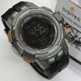 Harga Hemat Promo Digitec Dg 3054T Original Anti Air Jam Tangan Pria Sporty Casual Grey