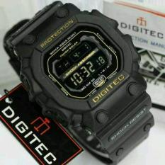 Spesifikasi Promo Digitec Monster Dg 2012T Original Anti Air Jam Tangan Pria Sporty Casual Black Gold Paling Bagus