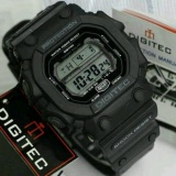 Jual Promo Digitec Monster Dg 2012T Original Anti Air Jam Tangan Pria Sporty Casual Black Grey Murah