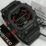 Promo Digitec Monster Dg 2012T Original Anti Air Jam Tangan Pria Sporty Casual Black Red Digitec Diskon