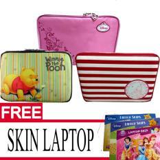 PROMO TERBARU Beli tas Laptop 10 inch gratis skin laptop motif disney