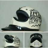 Jual Promosi Helm Cakil Krem Full Face Murah Branded Original