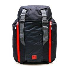 Jual Beli Puma 074183 02 Duplex Backpack Asphalt Red Blast Baru Indonesia