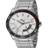 Spesifikasi Puma Jam Tangan Pria Puma Pu10316100 Analog Display Silver Black White Sport Watch Terbaik