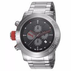 PUMA PU103791001 - Impulse - Chronograph - Jam Tangan Pria - Bahan Tali Stainless Steel - Silver