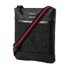 Puma tas selempang Ferrari LS Flat portable - 07484201 - hitam