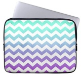 Harga Purple Turquoise Fade White Chevron Zigzag Pattern Laptop Sleeves Notebook Cover Or 13 Inch Intl Yang Bagus