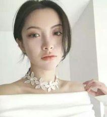 Harga Hemat Putih Gaun Pengantin Renda Mutiara Kalung Kalung