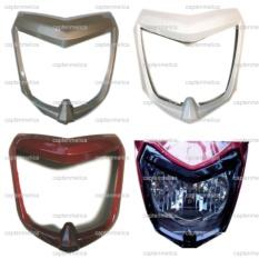 Promo Putih New Vixion Lightning Nvl List Lis Cover Headlamp Lampu Batok Head Lamp Depan Motor Akhir Tahun