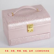 Beli Barang Putri Bergaya Eropa Bahan Kayu Ada Kunci Kotak Penyimpanan Kotak Perhiasan Online