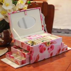 Diskon Kotak Perhiasan Vintage Dengan Kunci Gaya Eropa Oem