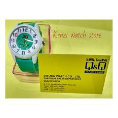 Harga Q Q Watch Terbaru Qq017 Jam Tangan Fashion Wanita Rubber Strap Green Qq Baru
