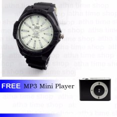 Q&Q 0607 Jam Tangan Pria Free Mp3 Mini Player