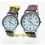 Review Pada Q Q Analog Jam Tangan Couple Casual Murah Leather Strap Waterresistant Qq0979Vj