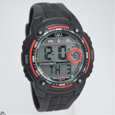 Q&Q M075J002Y Chrono Aktif (Black Red)