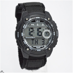Q&Q M075J003Y Chrono Aktif (Black White)