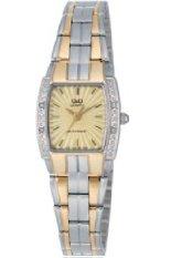 Spesifikasi Q Q Watch Jam Tangan Wanita Vw71 400Y Putih Stainless Steel Murah