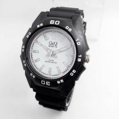 Jual Q Q Watch Qq 0119 Jam Tangan Sport Unisex Rubber Strap Black Online