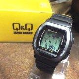 Jual Q Q D40H145Mac5P112Yha Digital Jam Tangan Hitam Branded