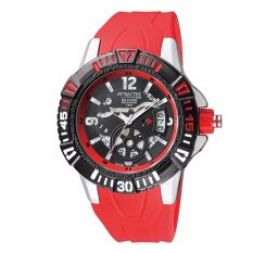 Diskon Q Q Qnq Qq Attractive Analog Jam Tangan Pria Merah Strap Karet Da72J322Y Branded