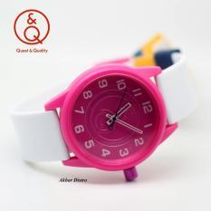 Diskon Q Q Watch Jam Tangan Wanita Rubber Strap Qq6J034Y Ad Branded