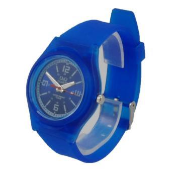 Penjualan Q&Q Watch - QQ005 - Jam Tangan Sport Wanita - Rubber Strap terbaik murah - Hanya Rp48.589