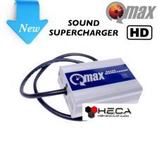 QMAX SOUND SUPERCHARGER HD Voltage Stabilizer Q-MAX Peningkatan Kualitas Suara Audio Mobil
