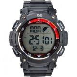 Jual Beli Qq Jam Tangan Digital M119J004Y Black Red Di Indonesia
