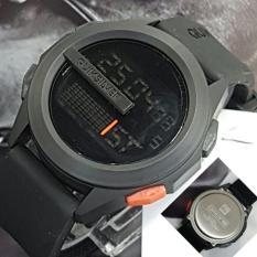 Quicksilver Men's - Jam Tangan Pria - Digital - Rubber