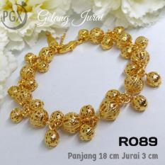 R089 Gelang Jurai Pandora Xuping Yaxiya - Perhiasan Lapis Emas 18K