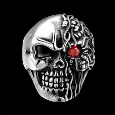 Toko R193 Unique Star Celebrity Men Styles Skull Ring Intl Lengkap Indonesia