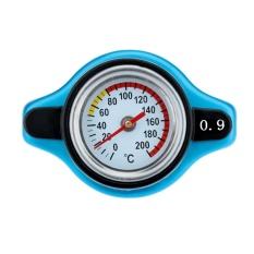 Dapatkan Segera Radiator Cap Cover Dengan Suhu Air Alat Pengukur Suhu 9 1 1 1 3Bar Biru Intl