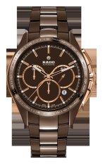 Harga Rado Hyperchrome Automatic Chronograph Limited Edition R32175302 Jam Tangan Pria Coklat Asli Rado