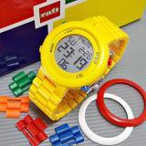 Cuci Gudang Raft Lego Jam Tangan Anak Digital Unisex Original