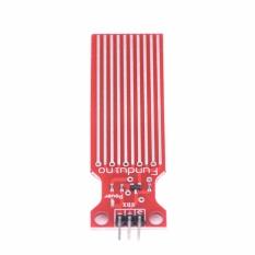 Air Hujan Sensor Liquid Level Sensor Modul Kedalaman Deteksi untuk Arduino UNO Merah-Intl