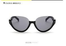 Pelangi Jembatan 1533 2017 Kacamata Hitam, Setengah Bingkai Kacamata Mata Kucing, EBay Retro Kacamata Hitam-Internasional