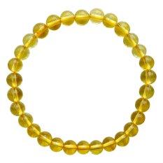 Jual Raja Gelang Batu Yellow Imperial Topaz Citrine Aaa 6Mm Kuning Antik