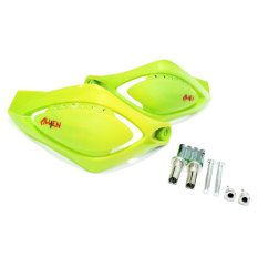 Dapatkan Segera Rajamotor Alien Handguard Universal Lengkung Led Hijau