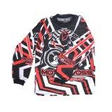 Toko Raja Motor Kaos Motocross Lubang Lengan Panjang Anak Motif All Size Motocross Merah Hitam Online Terpercaya