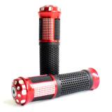 Harga Rajamotor Handgrip Set Bintik Ring Jalu Almunium Merah Termahal