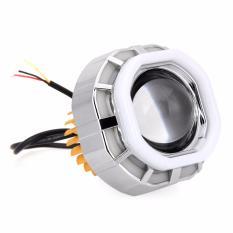 RajaMotor Lampu Depan Projector LED V 07 Kotak - Biru/Merah/Biru