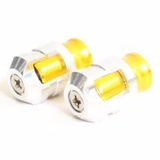 RajaMotor Nitex Tutup Pentil - Silver/Gold