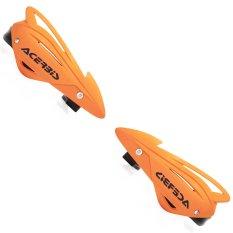 Toko Rajamotor Handguard Universal Model Acerbis Trifit Oranye Terlengkap Indonesia