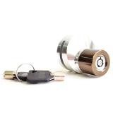 Jual Rajamotor Kunci Cakram Disc Brake Lock Cnc Almunium Bulat Silver Rajamotor